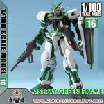 1/100 GUNDAM ASTRAY GREEN FRAME กันดั้ม แอสเทรย์ กรีน เฟรม