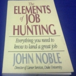the elements of job hunting john noble ราคา 250
