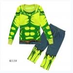 ชุดนอนลาย Hulk สีเขียว