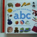 My First Word Book ABC (board Book) ราคา 160