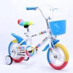 """จักรยานเด็กรุ่นใหม่ ขนาดวงล้อ 10"""" สีฟ้า"""