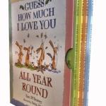 หนังสือชุด Guess How Much I Love You (All Year Round) ปกอ่อนสี่เล่มมีกล่อง ราคา 1050