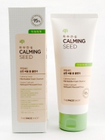 พร้อมส่ง The Face Shop Calming seed mild bubble foam cleanser