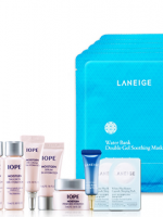 พร้อมส่ง LANEIGE mask pack 5 sheets WATER BANK double gel soothing mask