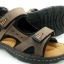 Leather sandals with backstrap (men) thumbnail 1
