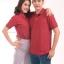เสื้อโปโล สีเลือดหมู TK Premium แขนสั้น ทรงตรง Size 3XL thumbnail 1