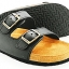 Cork sole leather sandal (kids) thumbnail 2