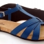 Cork sole leather sandal ( lady) thumbnail 3