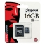 Micro SD Card 16GB Kingston ของแท้ พร้อมตัวแปลง ราคาส่ง thumbnail 1