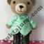 ตุ๊กตาหมี ถักโครเชต์ thumbnail 1
