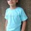 เสื้อยืดเด็ก สีฟ้าอ่อน คอกลม แขนสั้น Size XL thumbnail 3