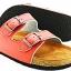 Cork sole leather sandal (kids) thumbnail 4