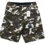 White and Brown Camo Cargo Shorts for Men - size 34 thumbnail 1