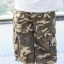 Brown Camo Cargo Shorts for Men - size 34 thumbnail 4