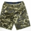 Brown Camo Cargo Shorts for Men - size 34 thumbnail 1