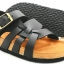 Cork sole leather sandal (kids) thumbnail 1