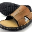 Leather sandals without backstrap (men) thumbnail 2