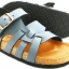 Cork sole leather sandal (kids) thumbnail 3
