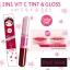 2in1 Vit C Tint Gloss Cathy Doll Red Wine ทินท์ผสมวิตามินซี thumbnail 1