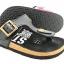 Cork sole leather sandal (kids) thumbnail 1