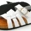 Cork sole leather sandal (kids) thumbnail 5