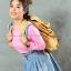 เสื้อยืด สีชมพูอ่อน คอกลม แขนยาว Size M สำเนา thumbnail 2