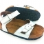 Cork sole leather sandal (kids) thumbnail 2
