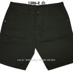 กางเกงขาสั้น MC พรีเมี่ยม 1306-2 สีดำ