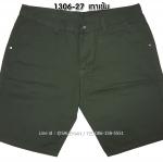 กางเกงขาสั้น MC พรีเมี่ยม 1306-27 สีเทาเข้ม