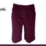 กางเกงสามส่วน รุ่น308 (สีม่วงเข้ม)