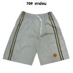 กางเกงขาสั้น SPORT 7 รหัส709 สีเทาอ่อน