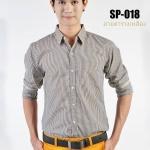 เสื้อเชิ้ตผู้ชายลายตาราง SP-018