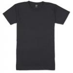 เสื้อยืดคอกลมเรียบ Po04 สีดำ