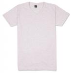 เสื้อยืดคอวีเรียบ Pv03 สีชมพูฟอก
