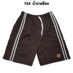 กางเกงขาสั้น SPORT 7 รหัส724 สีน้ำตาลช็อค