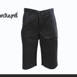 กางเกงสามส่วน รุ่น313 (สีเทาควันบุหรี่)