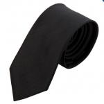 เนคไท ผ้าไหม สีดำ black