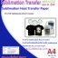 PP-InkJet Miracle Sublimation Heat Transfer paper ขนาด A4 จำนวน 20 แผ่น thumbnail 1