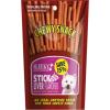ขนมสุนัข SLEEKY ชิววี่สแน็ค รสตับ (แบบแท่ง-ห่อใหญ่ 175 กรัม)