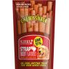 ขนมสุนัข SLEEKY ชิววี่สแน็ค รสเนื้อ (แบบแผ่น-ห่อใหญ่ 175 กรัม)