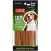 ขนมสุนัข SLEEKY เทสตี้ชิวส์ รสเบคอน (ขนมหมาแบบแผ่น)