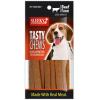 ขนมสุนัข SLEEKY เทสตี้ชิวส์ รสเนื้อ (ขนมหมาแบบแผ่น)