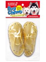 ขนมขัดฟันสุนัข SLEEKY หนังวัวขัดฟันหมารูปรองเท้า - แพ็คเดี่ยว