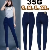 กางเกงยีนส์ขาเดฟเอวสูง สีเมจิกฟอก ซิบ สีพื้นเรียบๆสีสวย ผ้ายืดเนื้อดี มี SIZE S,M,L,XL