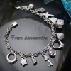 Bracelet with Pendants Silver 925