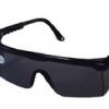 แว่นตาเซฟตี้ เลนส์ดำ ทรงมาตรฐาน Yamada YS-120