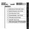 หนังสือ คู่มือซ่อม Kobelco Hydraulic Excavator SK450(LC)-6 , SK480(LC)-6 (ข้อมูลทั่วไป ค่าสเปคต่างๆ วงจรไฟฟ้า วงจรไฮดรอลิกส์)