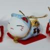 แมวกวัก แมวนำโชค สูง1.5นิ้ว ชุด 5 ตัว [catset-S3]