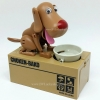 หมากินเหรียญ ออมสิน - สีน้ำตาล [dog-sav03]