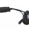 แบบส่งช้าFor BMW ICOM D Module for BMW Motocycle Diagnose Cable for BMW ICOM 10pin OBD adapter